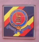 15th KING'S HUSSARS LARGE ACRYLIC COASTER